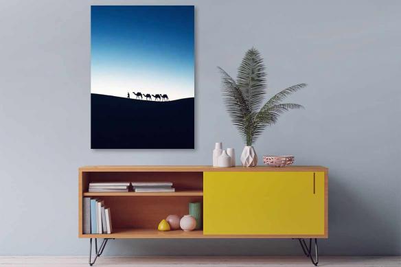 Tableau oriental désert Sahara