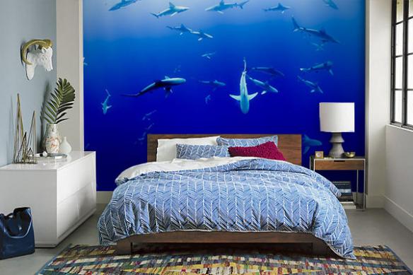 papier-peint-pour-chambre-original-mer