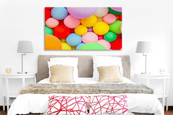 tableau couleur vive bazoon