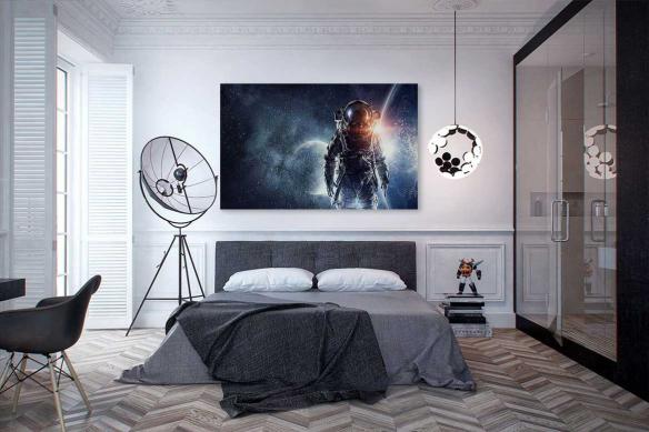 tableau chambre cosmonaute