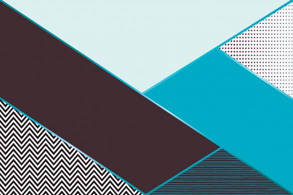 papier peint haut de gamme oscar bleu