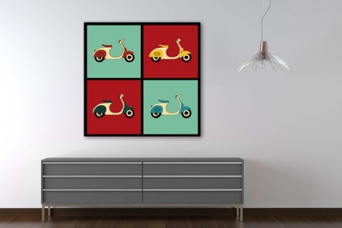 Tableau Scooters