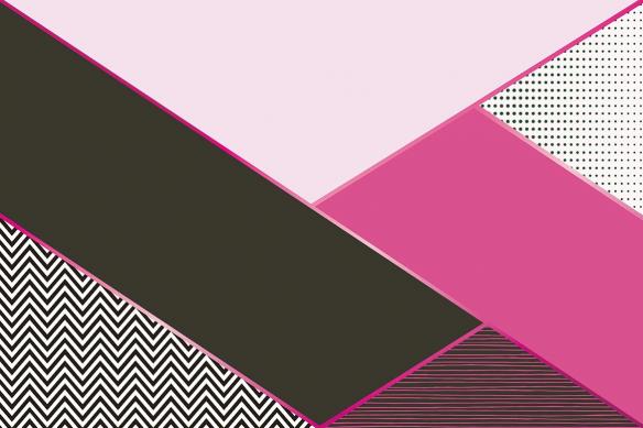 tapisserie murale moderne oscar rose