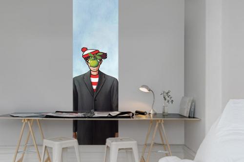 Panneau décoratif mural Mais où est Magritte
