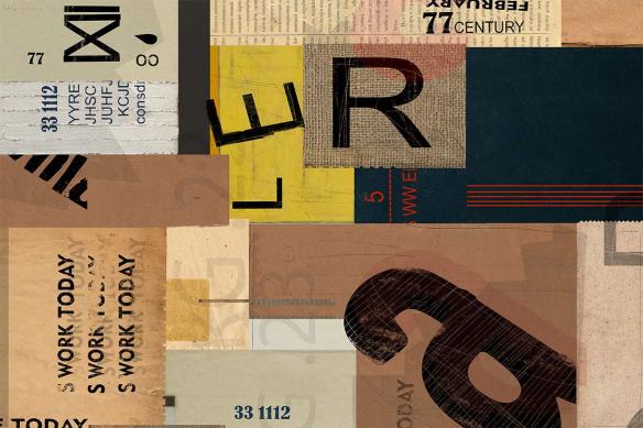 déco urbaine tableau contemporain boite postale