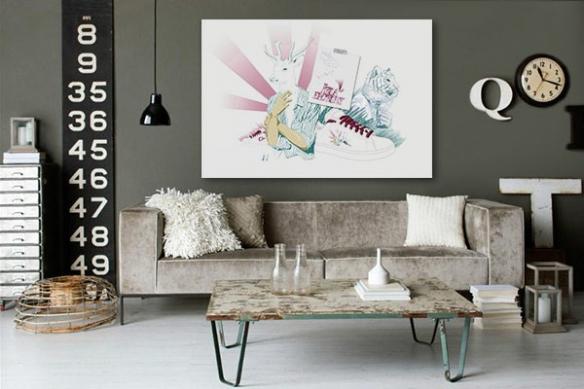 Tableau moderne Izoa Factory by Mathieu Gazaix