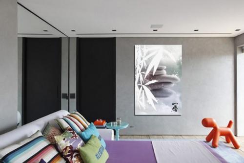 Tableau contemporain design Serenité