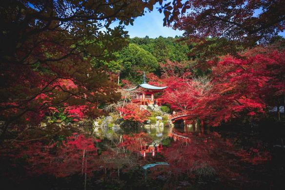 toile style japonais jardin