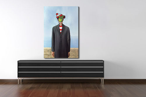 tableau célèbre mais ou est magritte izoa