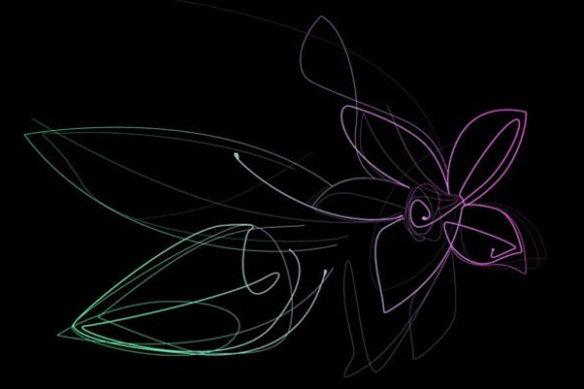 Tableau xxl Fleur de Vanille