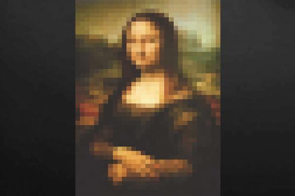 toile-deco-celebre-mona-lisa-pixel