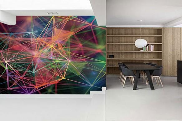 Papier peint 3d Connexion
