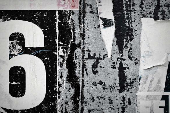 déco style industriel papier peint gris six