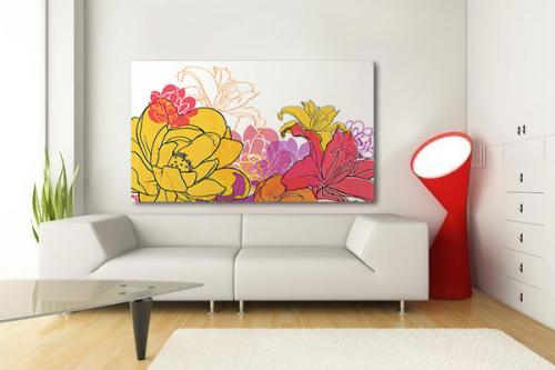 Tableau floral Eclat de fleurs