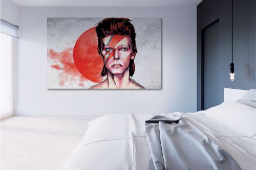 Tableau toile Bowie