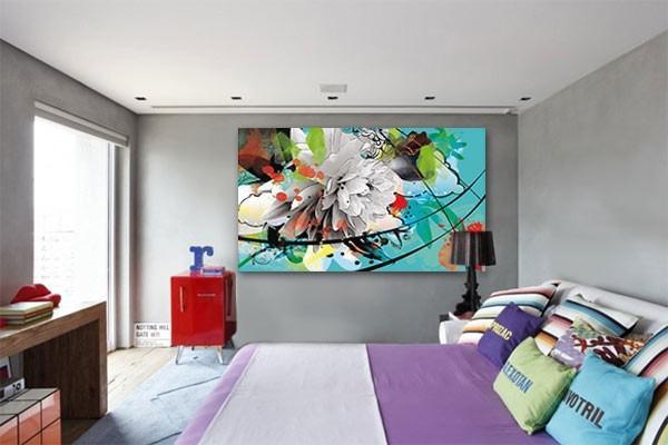 tableau fleurs d 39 t. Black Bedroom Furniture Sets. Home Design Ideas