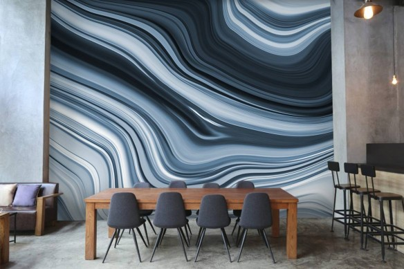 décoration restaurant papier peint haut de gamme izoa
