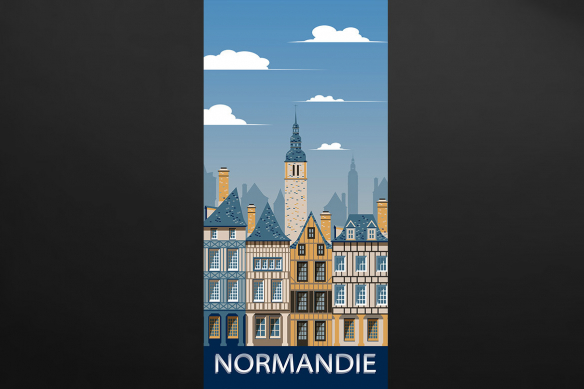 déco porte normandie