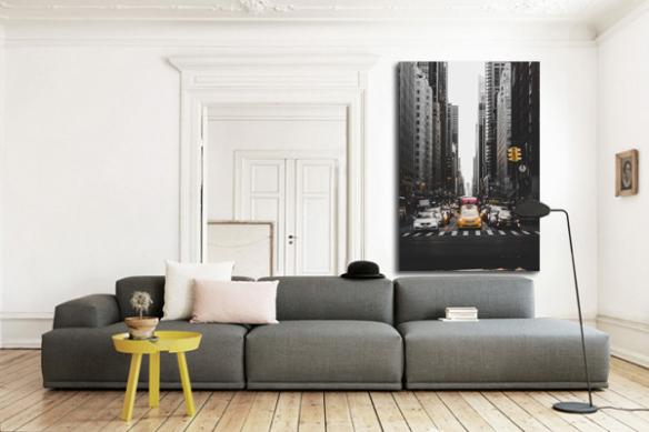 décoration studio tableau new york