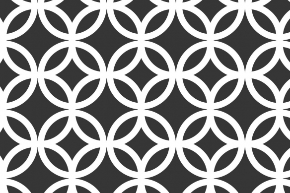 tableau abstrait géométrique florilège