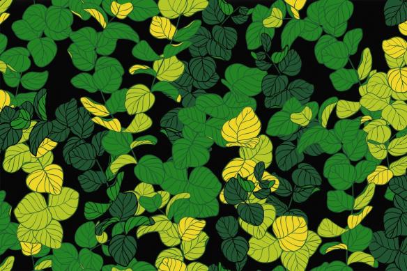 tapisserie-tropicale-feuillage-bucolique