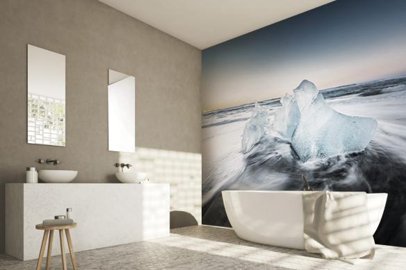 Papier peint salle de bain Antarctique