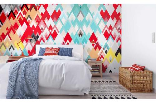 papier peint chambre moderne willwaw