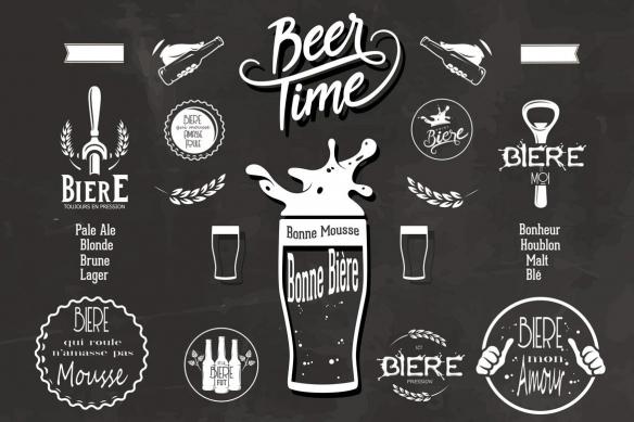 tapisserie-vintage-cuisine-beer-time