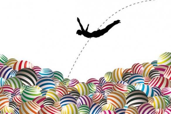 piscine a boulle plongeon