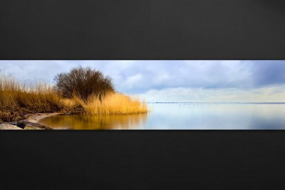 crédence adhésive cuisine paysage bord de lac