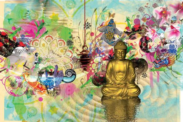 Tableau zen méditation