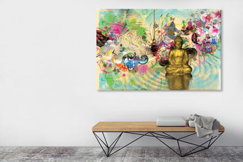 tableau-bouddha-meditation