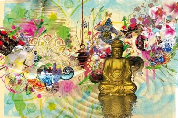 toile XXL méditation