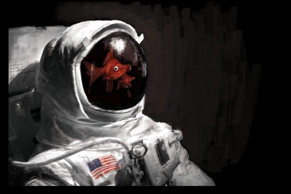 tableau-original-design-astronaute