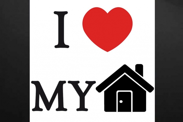 tableau-scandinave-rouge-et-noir-i-love-my-home
