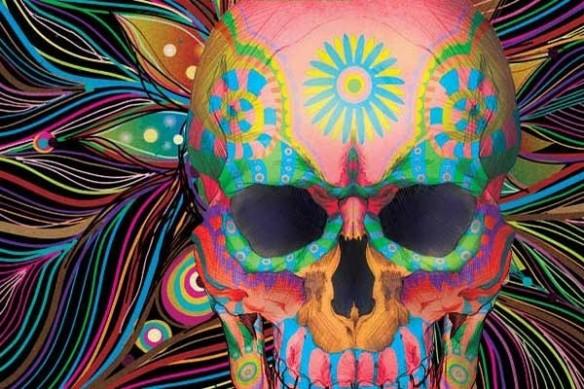 tête de mort Crâne Mexicain
