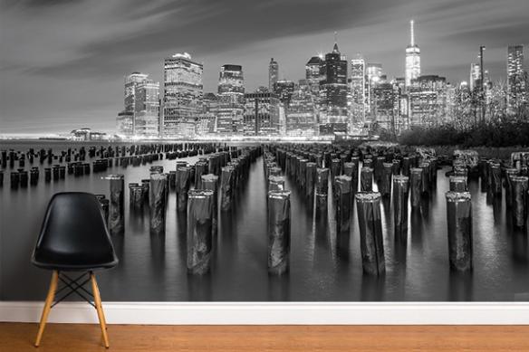 Papier peint New York Vue sur Manhattan