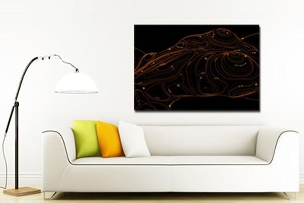 tableau abstrait cartographie by damien seppoloni izoa. Black Bedroom Furniture Sets. Home Design Ideas