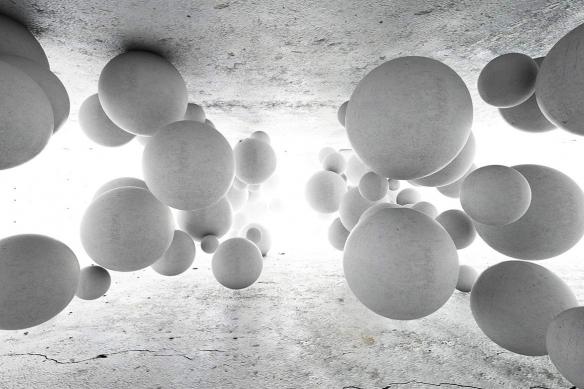 toile-abstraite-3D-boules