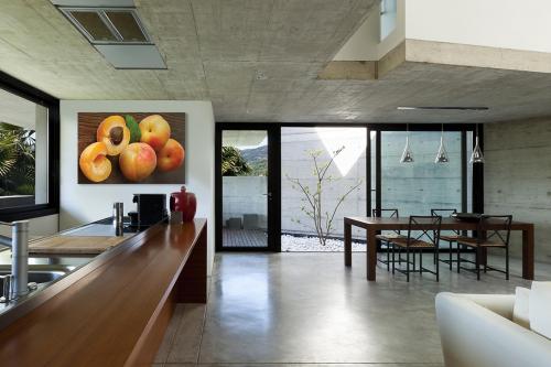 tableau abricot pour cuisine moderne