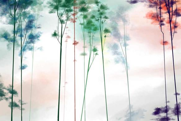 tapisserie-murale-intisse-foret-tanuki