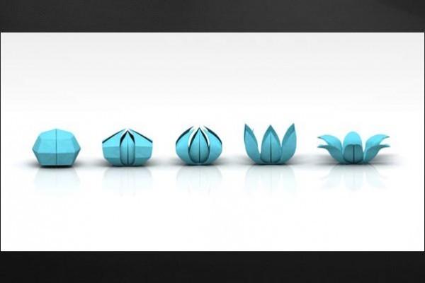 tableau art du pliage by jonathan berne izoa. Black Bedroom Furniture Sets. Home Design Ideas