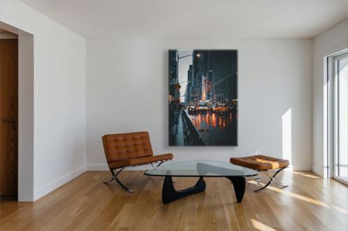 Tableau sur toile New York Dans la rue