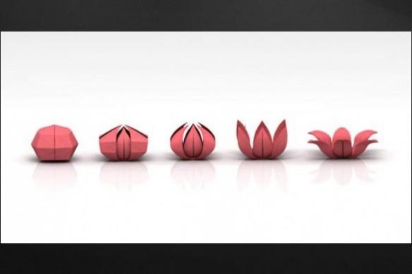 Tableau origami Art du pliage
