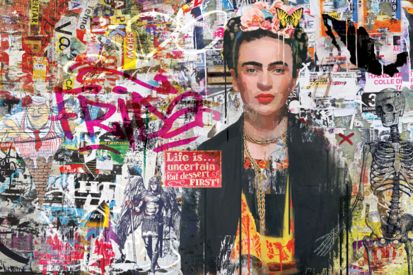 tableau art krida kahlo