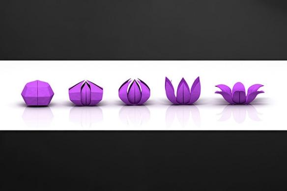 credence-deco-verre-violet-pliage