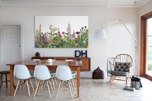 Tableau de fleurs Souffle printanier