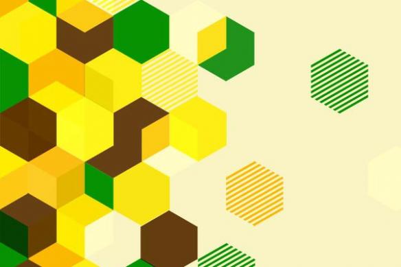 papier peint tendance jaune chapi chapo
