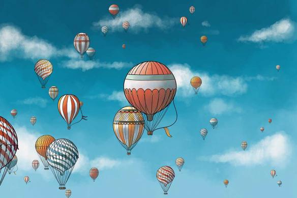 papier-peint-panoramique-montgolfieres-en-vol