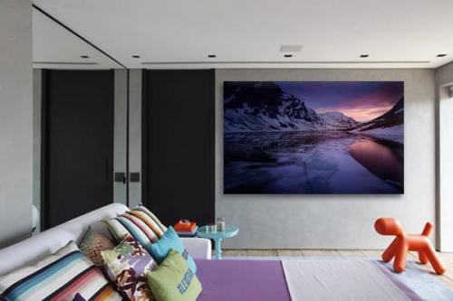 Tableau chambre Fjord